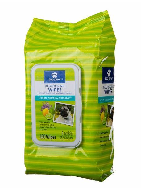 Deodorizing Dog Wipes