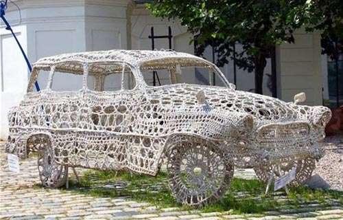 Craftily Spun Vehicles