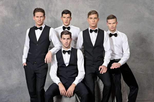 Bromantic Black-Tie Fashion