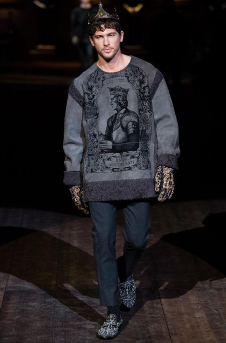 Dolce Gabbana Fall Winter 2014 menswear