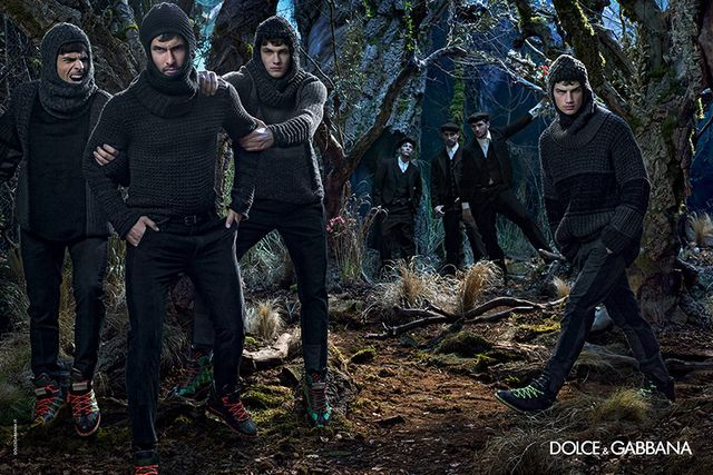 Medieval Menswear Fashion Campaigns