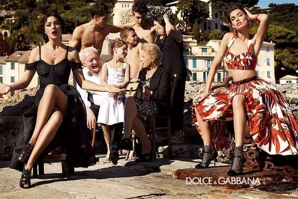 Italian Family Fashion Ads