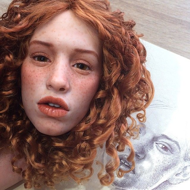 Hyper-Realistic Doll Faces