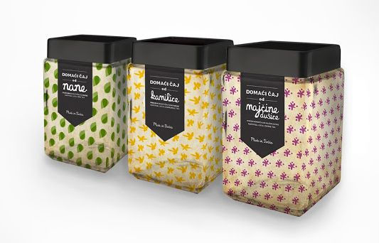 Domaci Caj Tea Packaging