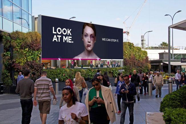 Bruise-Healing Billboards
