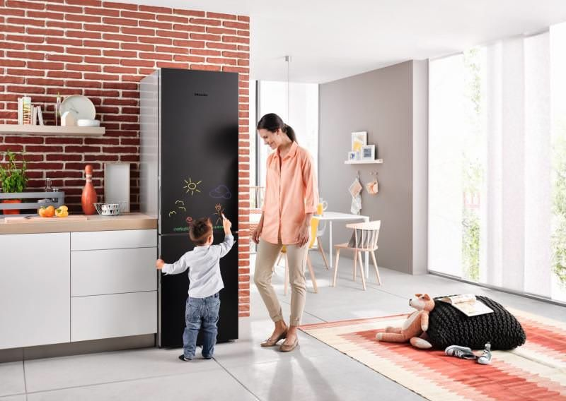 Stylish Blackboard Refrigerators