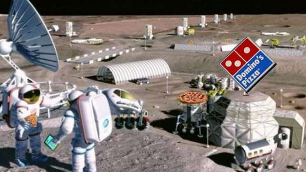 Domino's Moon Base