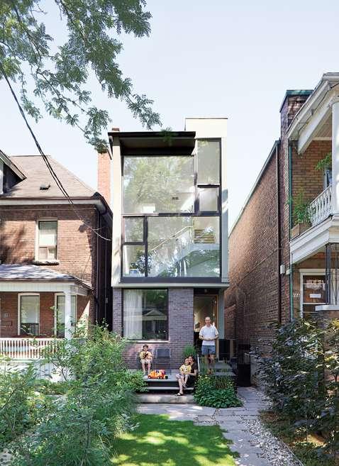 Slimly Styled Architecture