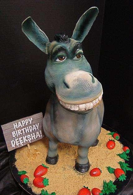Beast Of Burden Baked Goods Donkey Cake
