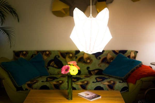 Animalistic Lampshades