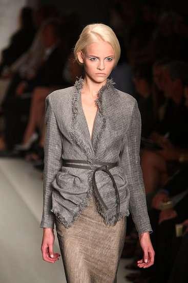 Wind-Swept Burlap Fashion