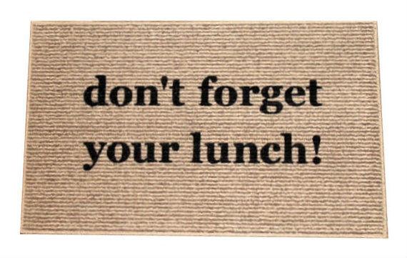 Helpful Reminder Doormats