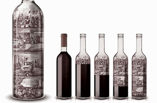 Safe Consumption Wine Bottles