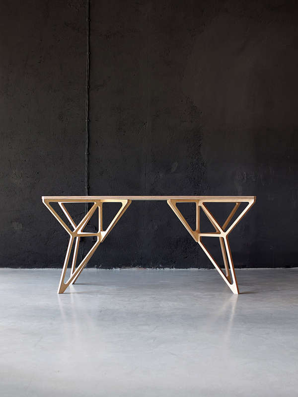 Geometrically Framed Furnishings