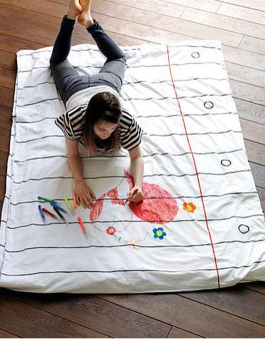 DIY Decorative Bedsheets