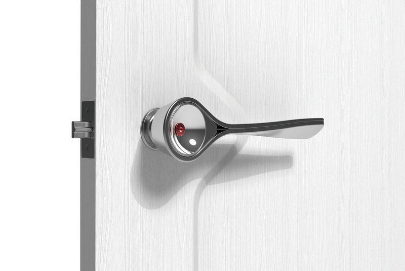 Fire-Detecting Door Handles