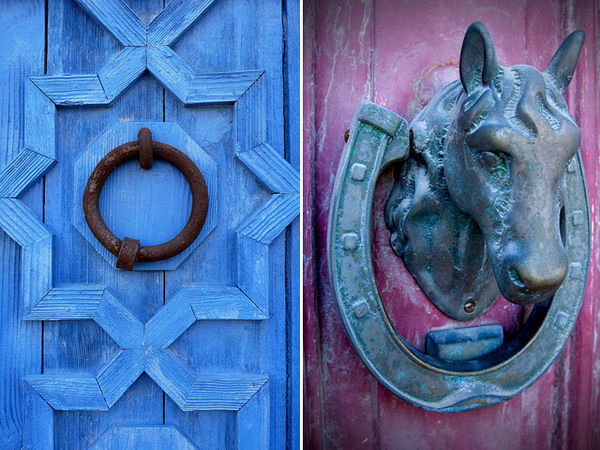 Old-School Eclectic Door Knobs