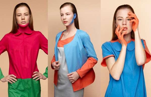 Skin-Painted Fashion