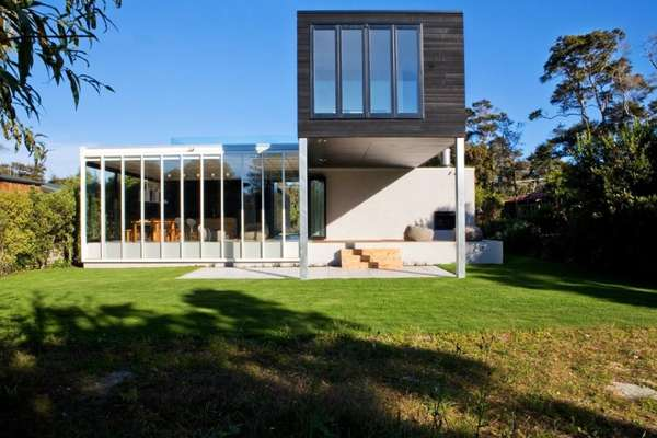 Seasonal savvy abodes dorrington architects rutherford house for Rutherford house
