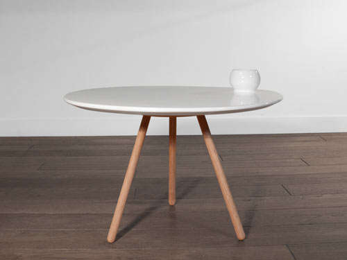 Dot Porcelain Table