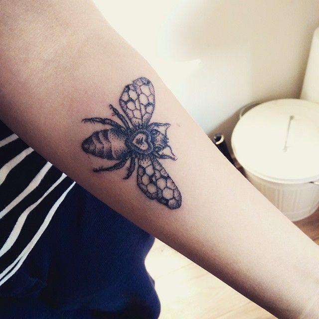 Delicate Pointillism Tattoos