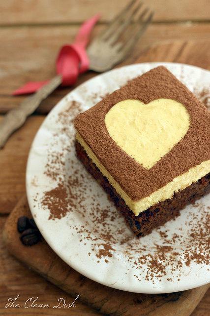 Tiramisu-Inspired Brownies