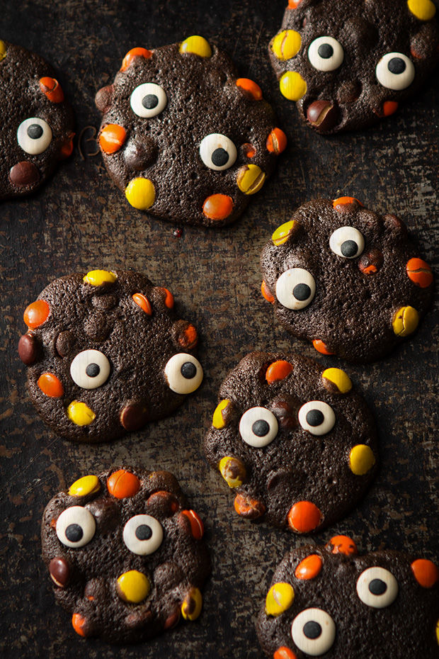 Chocolaty Monster Cookies