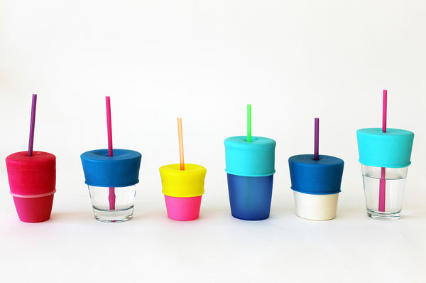 Snapable Silicone Lids