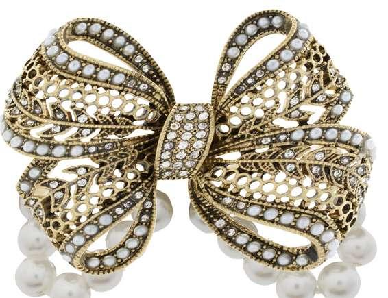 Bedazzling Bow-Tie Jewelry