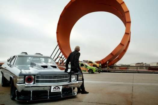 Real-Life Toy Car Ramps