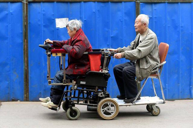 Custom Ride-Along Wheelchairs