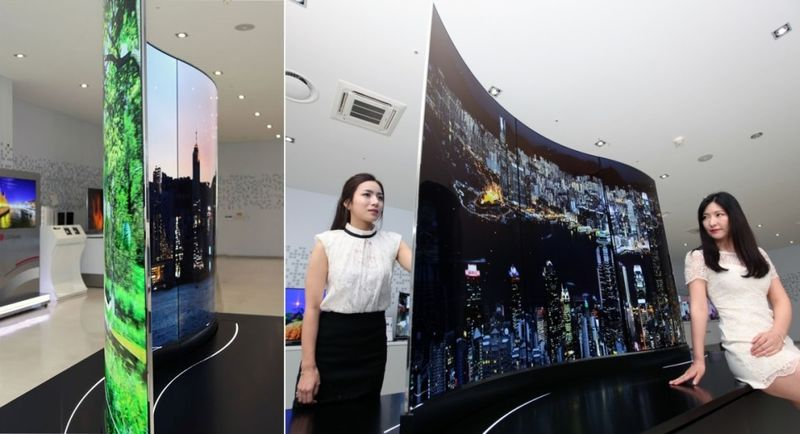Double-Sided TV Screens