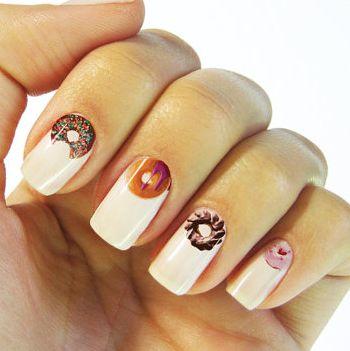 Doughnut Nail Decals