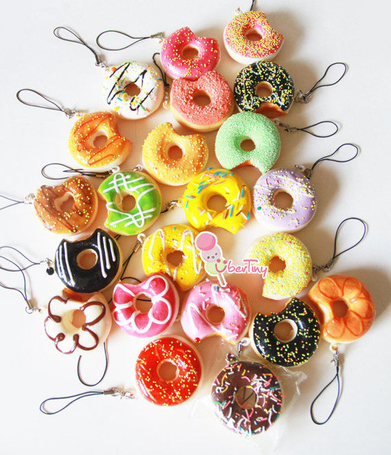Adorable Doughnut Charms