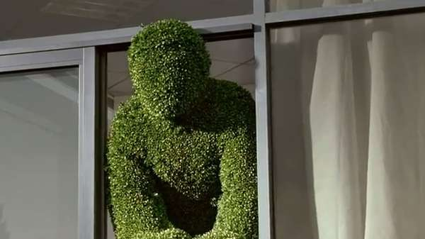 Faceless Hedge Mascots