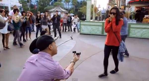 Surprise Choreographed Proposals Downtown Disney Flashmob Engagement