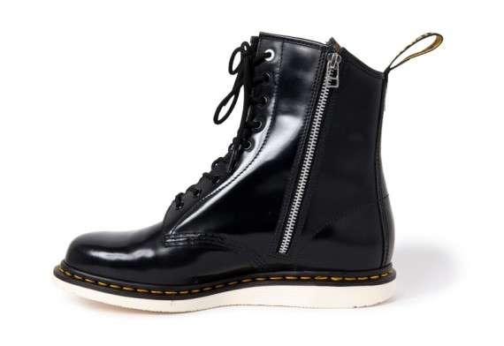Zipped-Up Punk Footwear