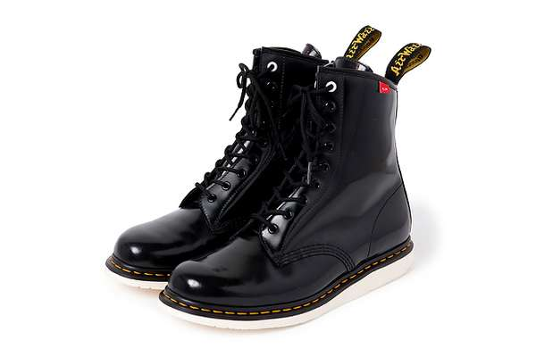 Glossy Combat Shoes
