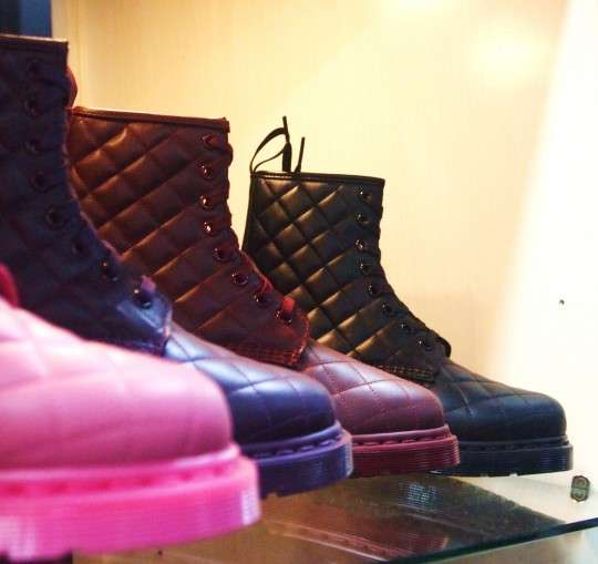 Outlandish Quilted Boots
