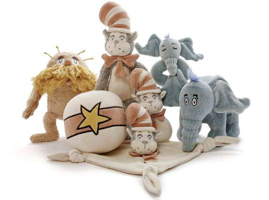 Dr Seuss Eco-Plush Collection