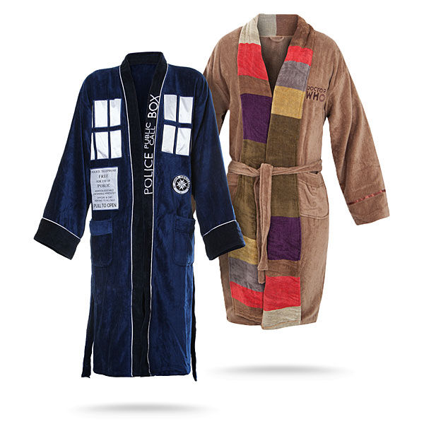 Dr. Who bathrobes