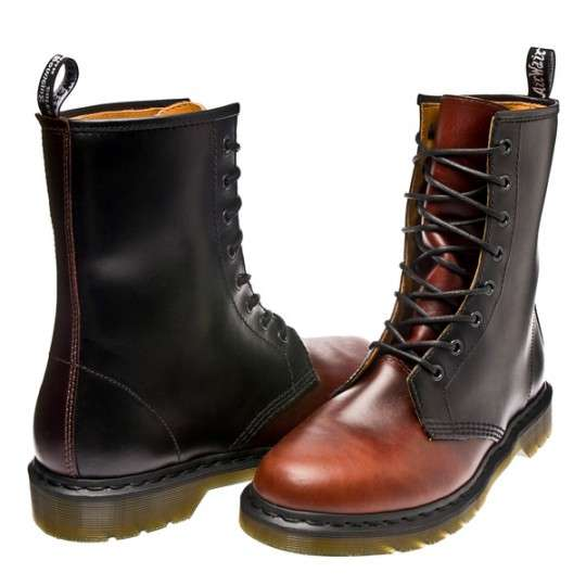 Bi-Color Punk Boots