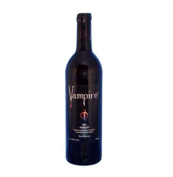 Dracula-Inspired Wines