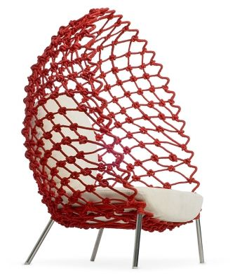 Woven Cocoon Seating
