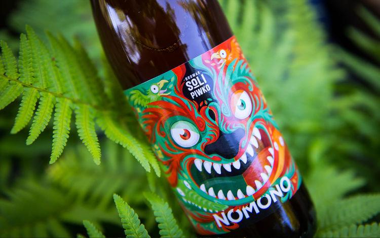 Monstrous Beer Labels
