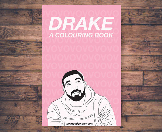 Rapper-Inspired Coloring Books
