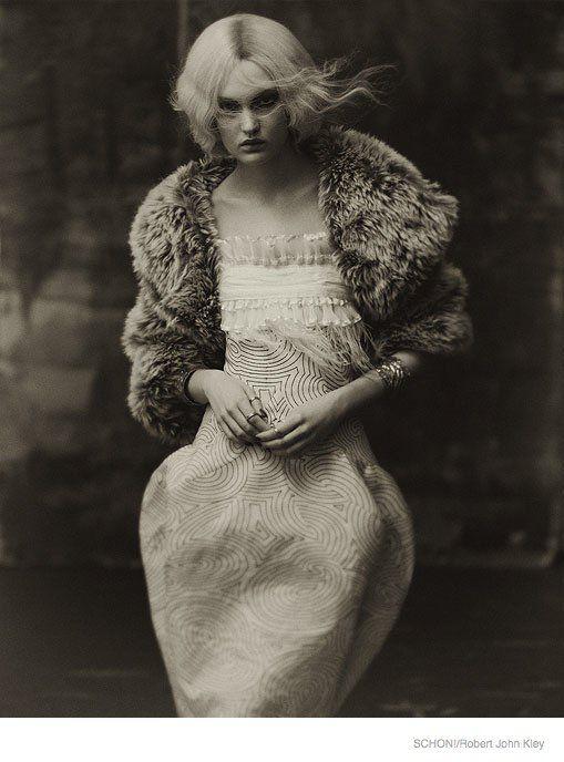 Vintage Dramatic Fashion