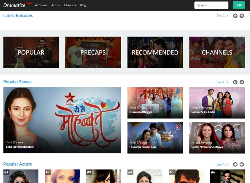 Bollywood Streaming Services