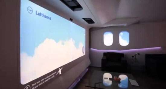 Virtual Reality Jets