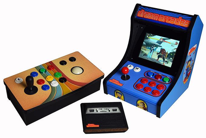 Retro Arcade Consoles